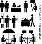 set of vector icons for... | Shutterstock .eps vector #134982377