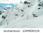 monte rosa gressoney saint jean ... | Shutterstock . vector #1349830124