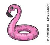 Flamingo Swim Beach Ring Color...