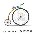 Penny Farthing Bicycle   French ...