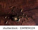 vintage watch pocket | Shutterstock . vector #1349854124