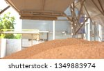 grains fall from a container....   Shutterstock . vector #1349883974