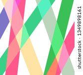 vector abstract stripes pattern.... | Shutterstock .eps vector #1349898161