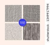 hand draw textures  line design ... | Shutterstock .eps vector #1349917994