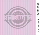 stop bullying retro style pink... | Shutterstock .eps vector #1349926931