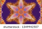 geometric design  mosaic of a... | Shutterstock .eps vector #1349942507
