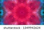 geometric design  mosaic of a... | Shutterstock .eps vector #1349942624