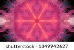 geometric design  mosaic of a... | Shutterstock .eps vector #1349942627