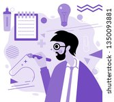 purple illustration. digital...