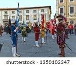 "pisa  pi   italy march 25 2019 ""... | Shutterstock . vector #1350102347"