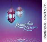 ramadan kareem islamic design...   Shutterstock .eps vector #1350171044