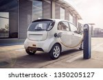 3d Rendering Of Electric Car Or ...