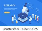 medical research concept. can... | Shutterstock .eps vector #1350211397