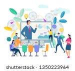 online training  workshops and... | Shutterstock .eps vector #1350223964