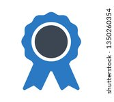 award glyph double color | Shutterstock .eps vector #1350260354