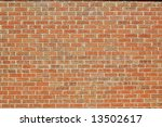 Brick wall 1 - stock photo