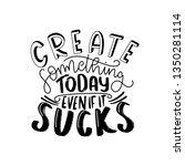 create something today. modern... | Shutterstock .eps vector #1350281114