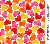 seamless pattern with colorful... | Shutterstock .eps vector #1350302894