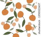 little orange mandarin   Shutterstock . vector #1350322637