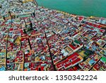cadiz with drone   amazing air...   Shutterstock . vector #1350342224