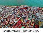 cadiz with drone   amazing air...   Shutterstock . vector #1350342227