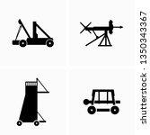 ancient armament equipment | Shutterstock .eps vector #1350343367