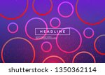 vector circles with shiny...   Shutterstock .eps vector #1350362114