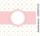 raster baby background   Shutterstock . vector #135037115