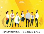 main page web design with...   Shutterstock .eps vector #1350371717