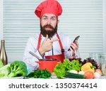 chef smartphone watch culinary...   Shutterstock . vector #1350374414