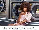 young black african american...   Shutterstock . vector #1350375761