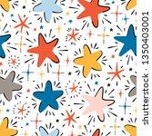 twinkle cute stars vector...   Shutterstock .eps vector #1350403001