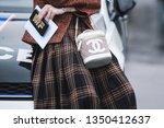 paris  france   march 05  2019  ...   Shutterstock . vector #1350412637