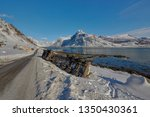 crash big truck with semi... | Shutterstock . vector #1350430361