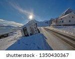 crash big truck with semi... | Shutterstock . vector #1350430367