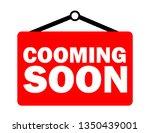 inscription cooming soon | Shutterstock .eps vector #1350439001
