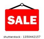 sale inscription vector | Shutterstock .eps vector #1350442157