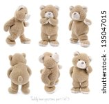 Teddy Bear Set  1 Of 3