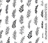 elegant seamless floral pattern ... | Shutterstock .eps vector #1350472151