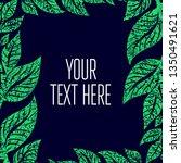 green grunge vector background  ... | Shutterstock .eps vector #1350491621