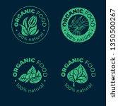 vector green design element for ... | Shutterstock .eps vector #1350500267