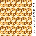 pattern cube background....   Shutterstock .eps vector #1350511517