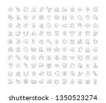 set of line icons of industrial ...   Shutterstock . vector #1350523274