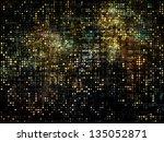 background of fractal ... | Shutterstock . vector #135052871