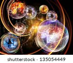 Data Bubble Series. Compositio...
