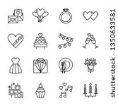 wedding icon vector design | Shutterstock .eps vector #1350633581