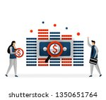 business and promotion of... | Shutterstock .eps vector #1350651764
