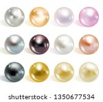 realistic different colors...   Shutterstock .eps vector #1350677534