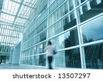 motion blur of people with... | Shutterstock . vector #13507297