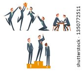 business competition ...   Shutterstock .eps vector #1350772511